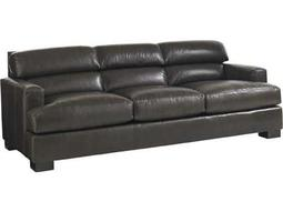 Lexington Carrera Bustle Back Toscana Leather Greystone Sofa