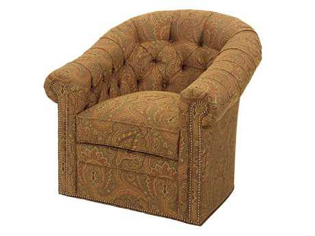 Lexington Upholstery Robinson Swivel Club Chair