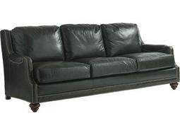Lexington Coventry Hills Alcot Leather Oakhurst Semi-Attached Back Sofa