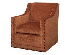 Lexington Upholstery Barrier Swivel Accent Chair