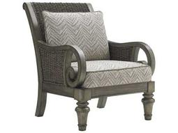 Lexington Bay Glen Cove Misty Gray Loose Back Accent Chair
