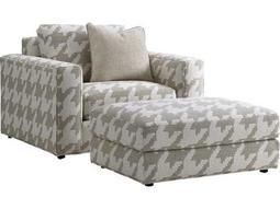 Lexington Laurel Canyon Bellvue Loose Back Chair and Ottoman Set