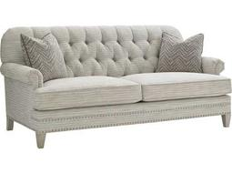 Lexington Oyster Bay Hillstead Tufted Back Settee