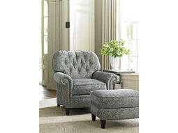 Lexington Bay Bayville Button Back Accent Chair and Ottoman Set