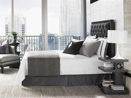 Lexington Carrera Carbon Gray Bedroom Set