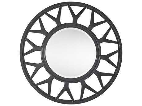 Lexington Carrera Carbon Gray 42'' Round Esprit Mirror