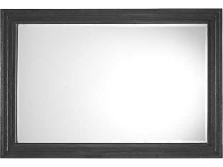 Lexington Carrera Carbon Gray 48W x 32.5H Volante Landscape Mirror