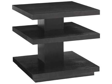 Lexington Carrera Carbon Gray 26'' Square Ellena End Table