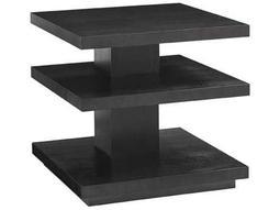 Lexington Carrera Carbon Gray 26'' Square Ellena End Table
