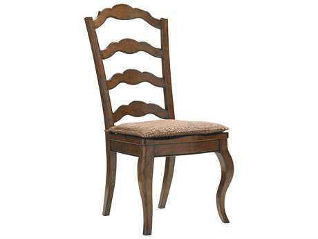Lexington Coventry Hills Rustic Cherry Princeton Ladder Back Dining Side Chair