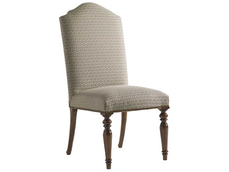 Lexington Coventry Hills Rustic Cherry Chestnut Hills Upholstered Dining Side Chair