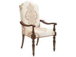 Lexington Coventry Hills Rustic Cherry Chestnut Hills Upholstered Dining Arm Chair
