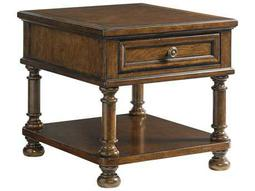 Lexington Coventry Hills Rustic Cherry 30'' x 26'' Rectangular Stonington End Table
