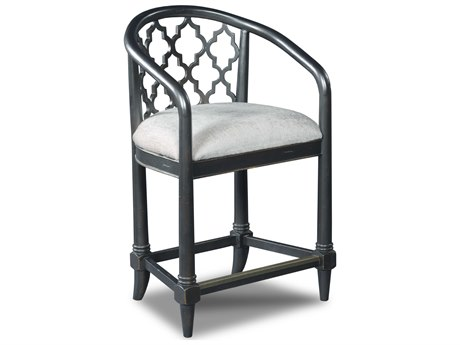 Luxe Designs Black Counter Stool