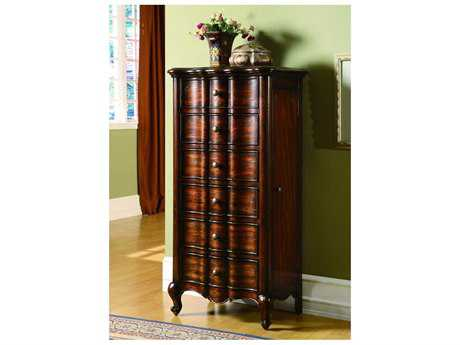 Luxe Designs Mahogany 24''W x 49''H Jewelry Armoire