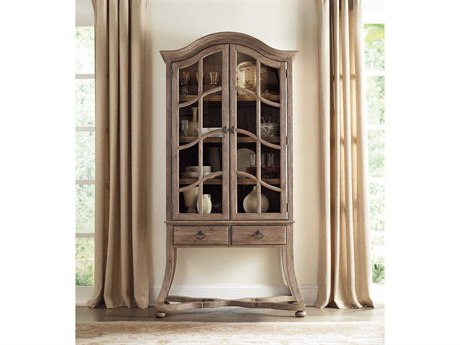 Luxe Designs Light Wood China Cabinets