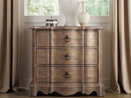Luxe Designs Light Wood 32''W x 18''D Rectangular Nightstand