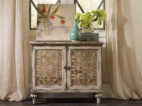 Luxe Designs Caramel Froth & Paris Vintage 35''W x 18''D Rectangular Nightstand