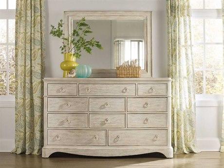Luxe Designs White, Cream & Beige Triple Dresser