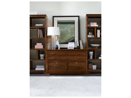 Luxe Designs Bookcase with Credenza