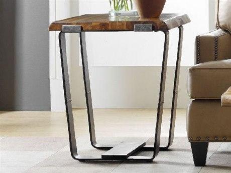 Luxe Designs Medium Wood 26.5''L x 22''W Rectangular End Table