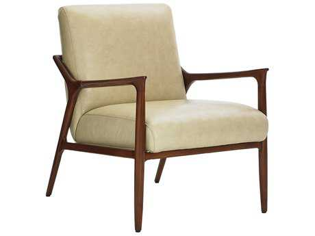 Lexington Take Five Warren Back Leather Accent Chair