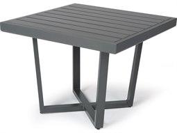 Mallin Formosa 5000 Series Aluminum 27'' Wide Square End Table