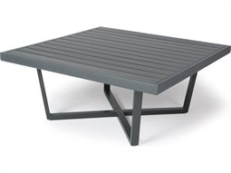 Formosa 5000 Series Aluminum 42'' Wide Square Coffee Table