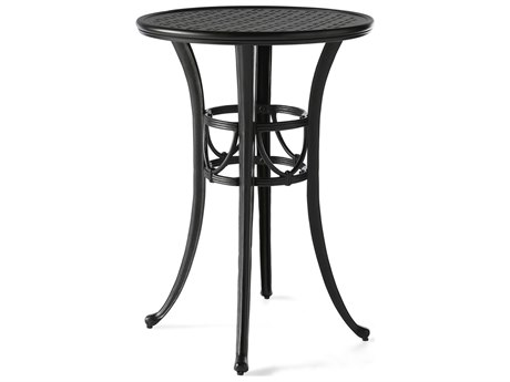 Mallin Napa 9000 Series Cast Aluminum 30'' Wide Round Bar Height Table