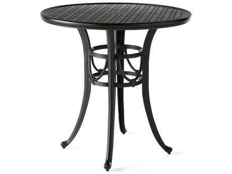 Mallin Napa 9000 Series Cast Aluminum 36'' Wide Round Counter Height Table with Umbrella Hole