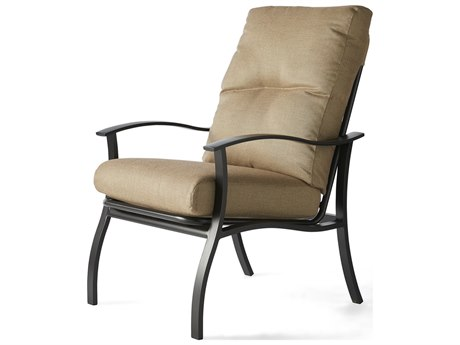 Mallin Albany Aluminum Cushion Dining Chair