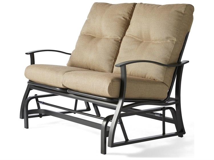 Mallin Albany Aluminum Cushion Loveseat PatioLiving