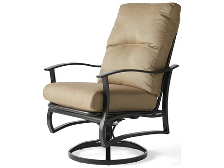 Mallin Albany Aluminum Cushion Dining Chair