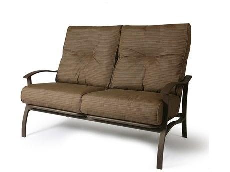 Mallin Albany Aluminum Cushion Loveseat