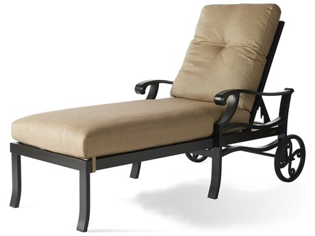 Mallin Anthem Cast Aluminum Chaise Lounge MALAN515