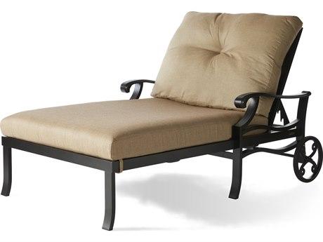 Mallin Anthem Cast Aluminum Cushion Chaise Lounge