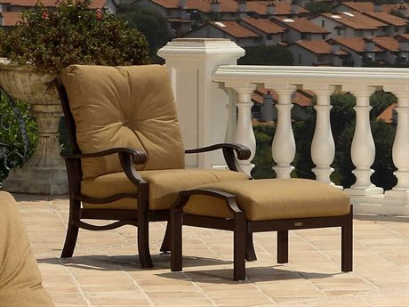 Mallin Anthem Cast Aluminum Cushion Lounge Set