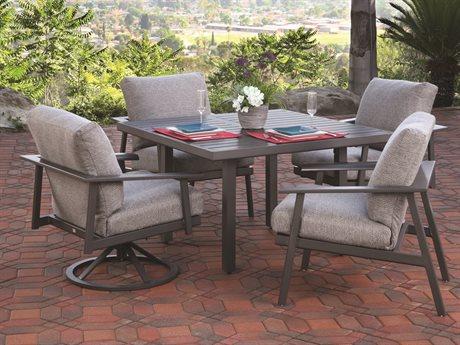 Mallin Dakoda Aluminum Dining Set