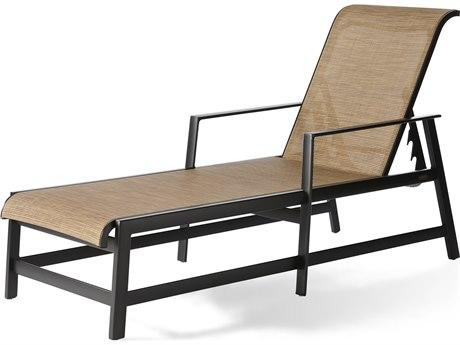 Mallin Dakoda Sling Aluminum Chaise Lounge