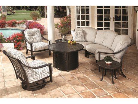 Mallin Ellington Aluminum Lounge Set