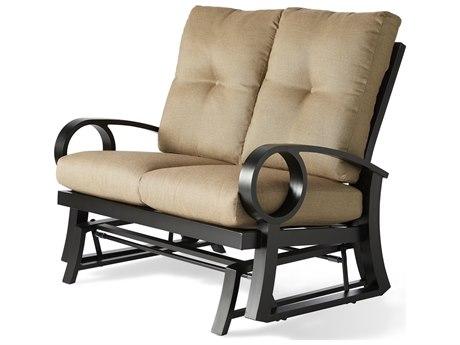 Mallin Eclipse Cast Aluminum Cushion Loveseat