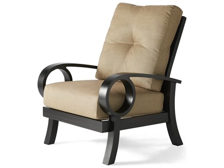 Mallin Eclipse Cast Aluminum Cushion Lounge Chair