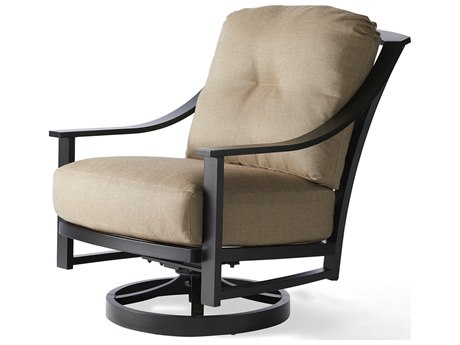 Mallin Ellington Aluminum Swivel Rocking Lounge Chair