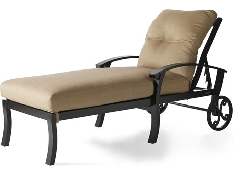 Mallin Georgetown Cushion Aluminum Chaise Lounge