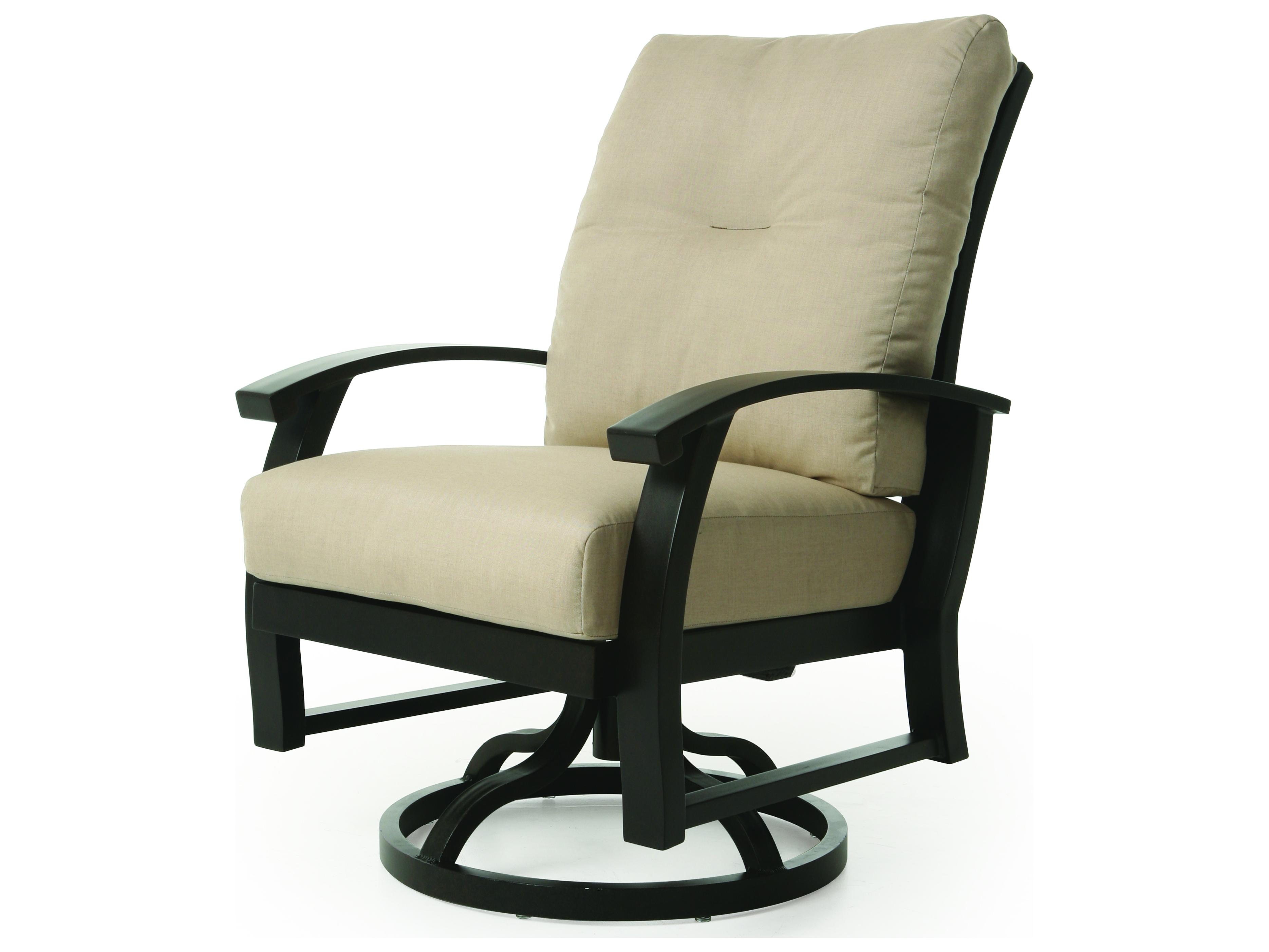 Mallin Georgetown Swivel Rocking Dining Arm Chair ...