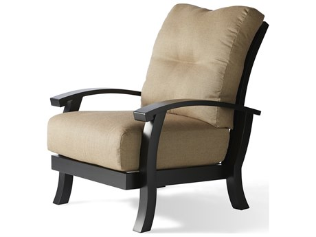 Mallin Georgetown Cushion Aluminum Lounge Chair