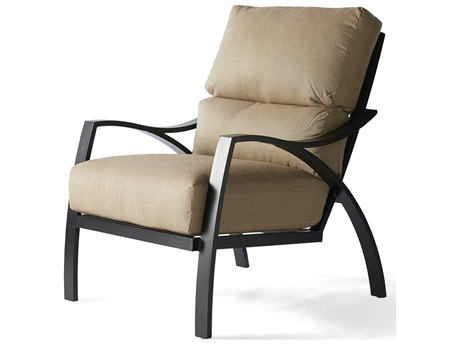 Mallin Heritage Cushion Aluminum Lounge Chair