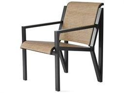 Mallin Madeira Sling Aluminum Dining Arm Chair