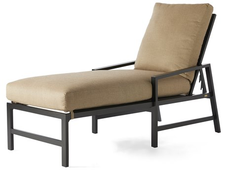 Mallin Madeira Cushion Aluminum Adjustable Chaise Lounge