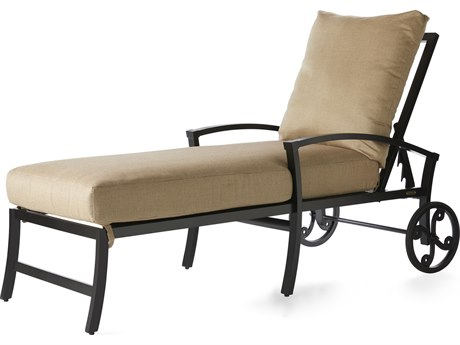 Mallin Oakland Aluminum Adjustable Chaise Lounge